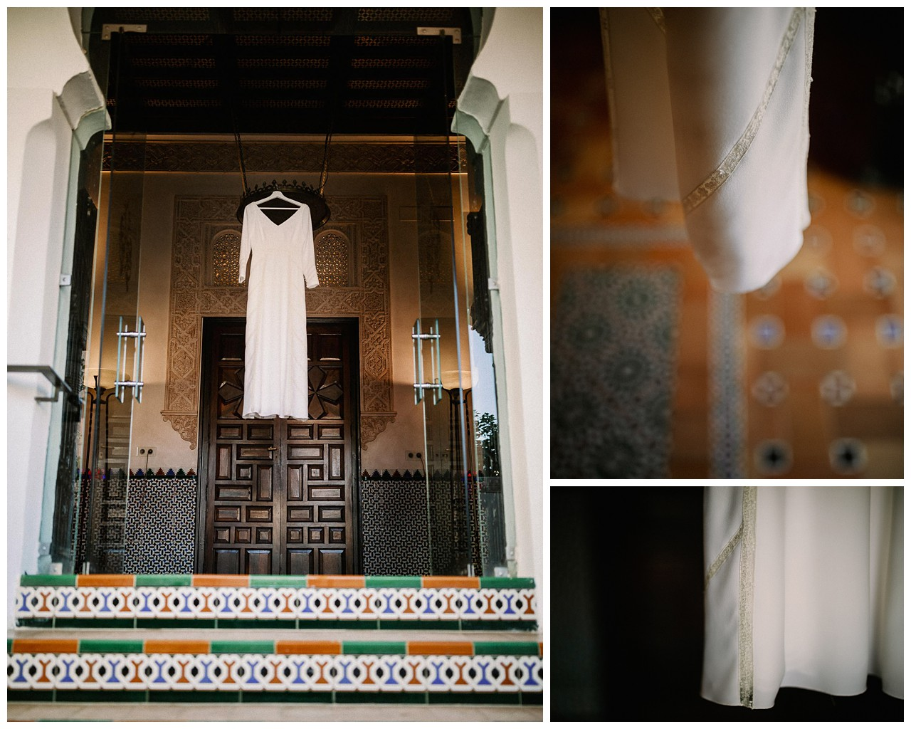 El vestido de la novia en Villa Luisa