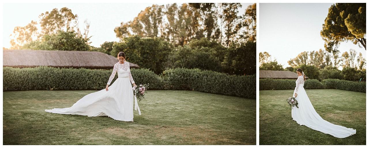 La novia en Hacienda Majaloba