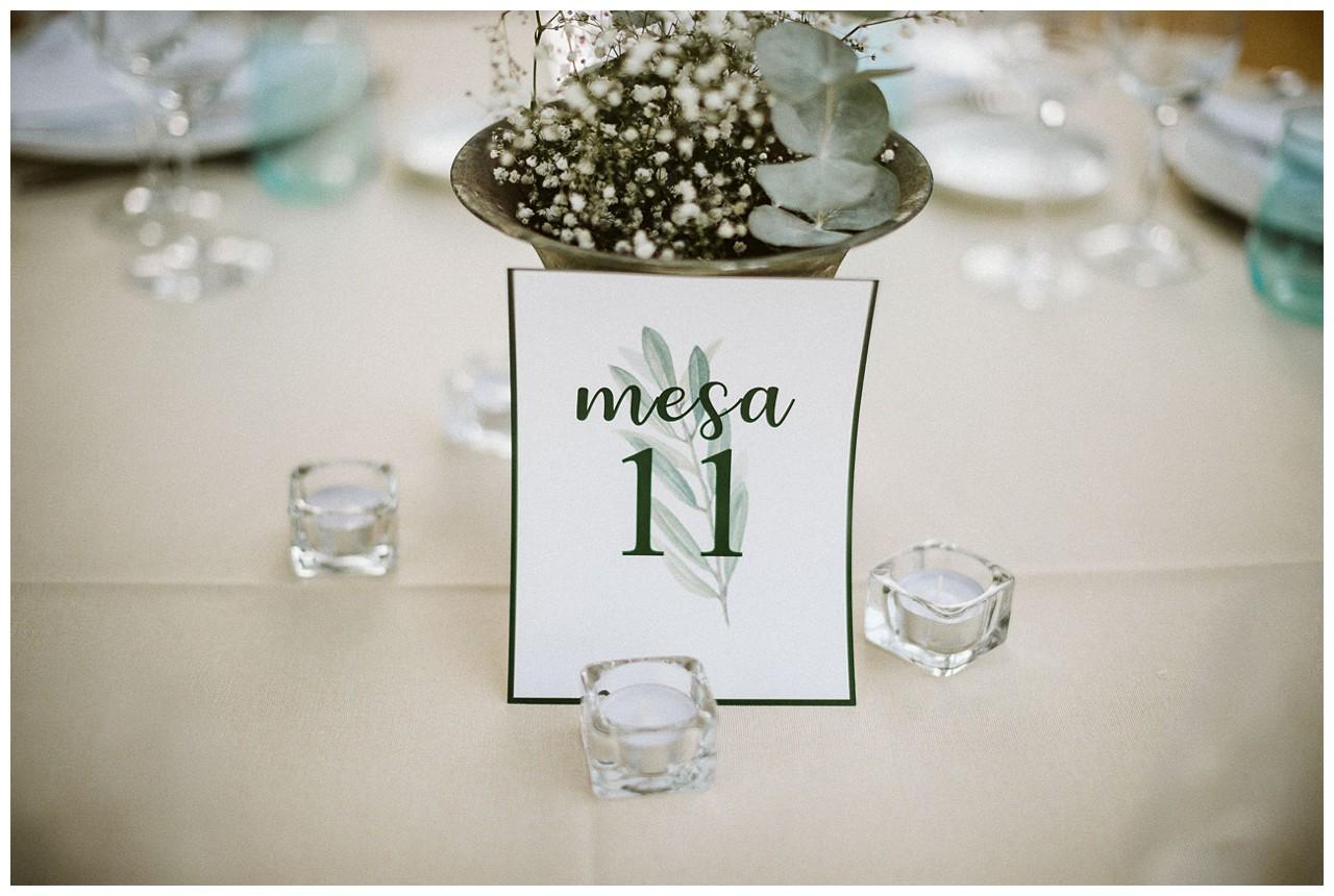 Decoración de una boda por Catering Salvador Arias