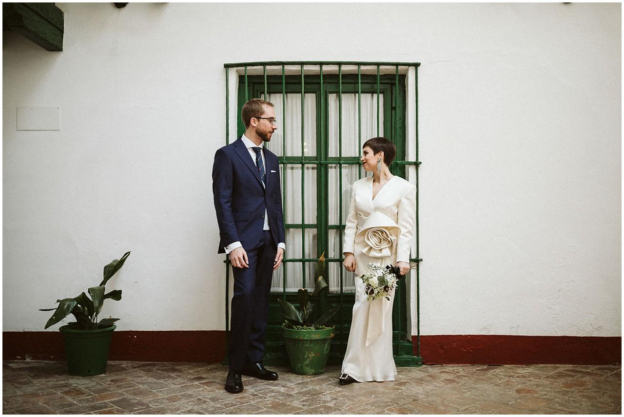 Recién casados en Casa Bucarelli