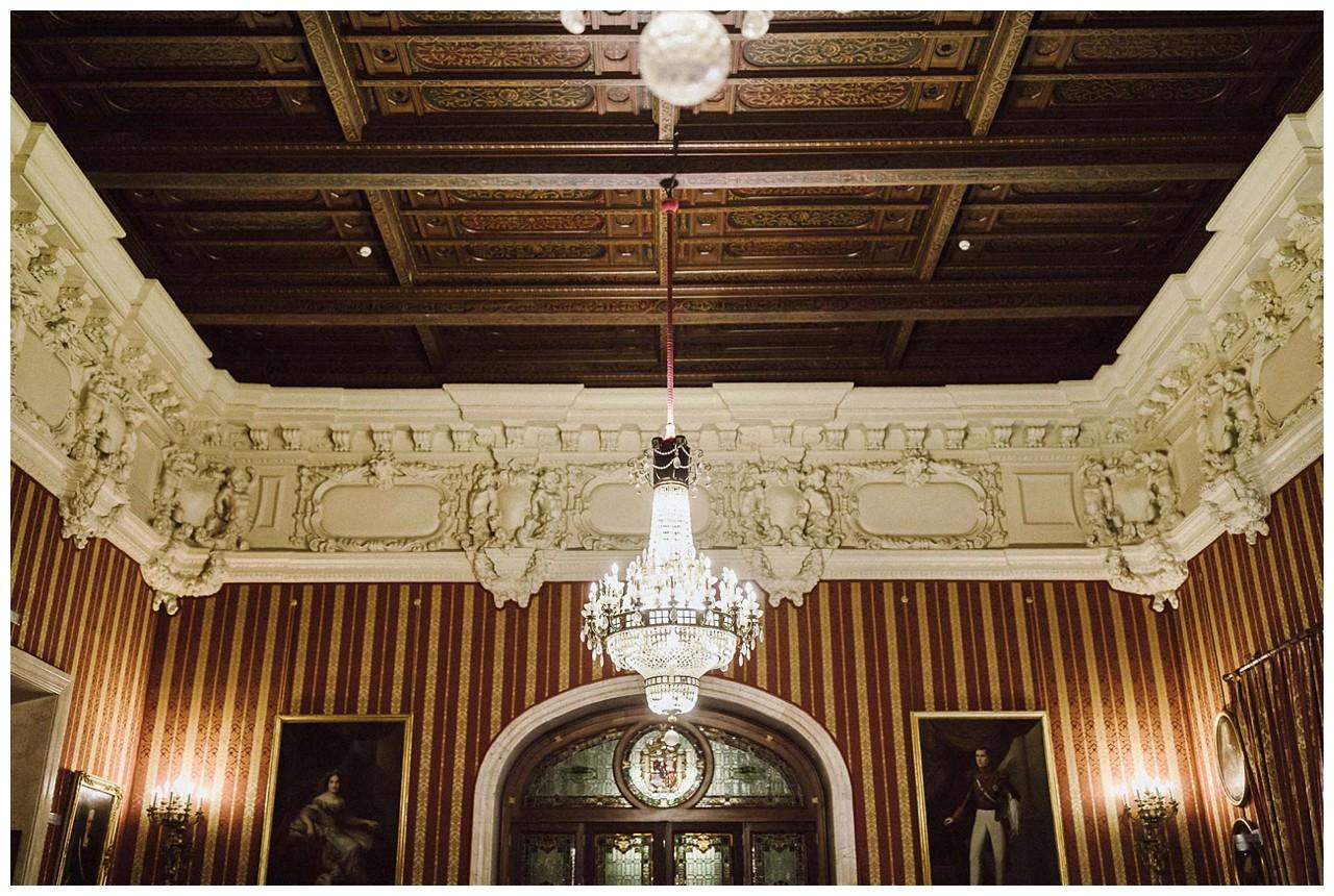 El Salón Colón del Ayuntamiento de Sevilla
