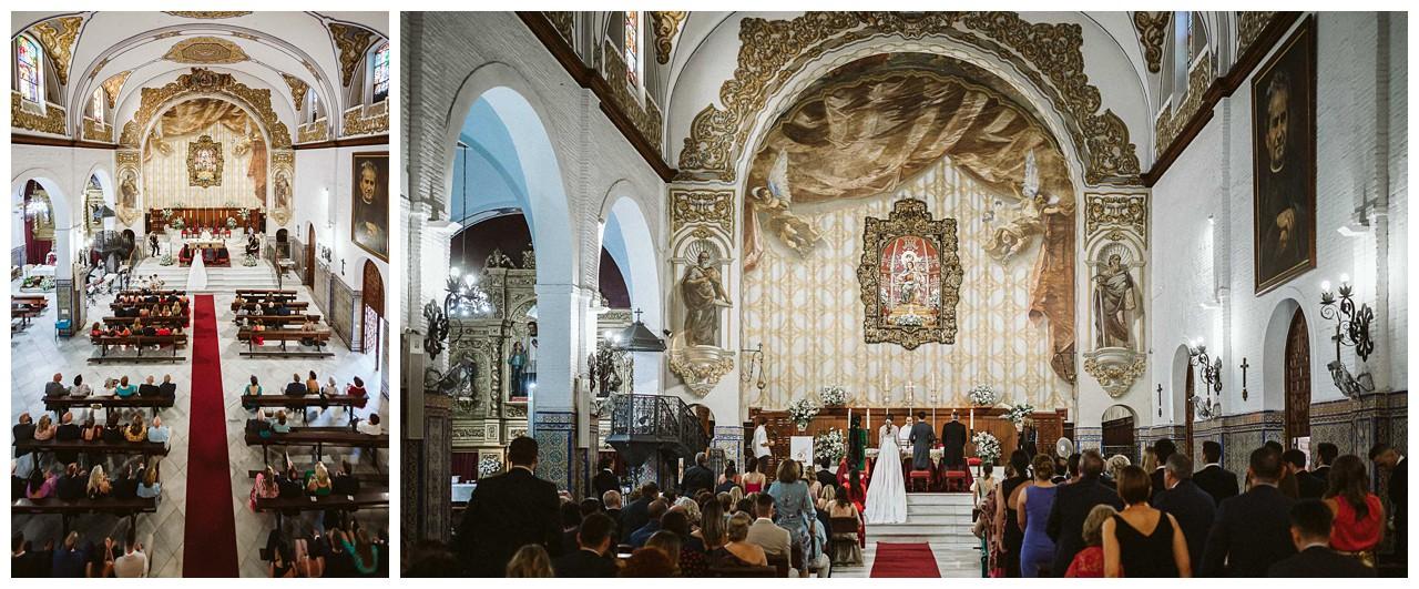 Una boda en Iglesia de los Salesianos de Triana