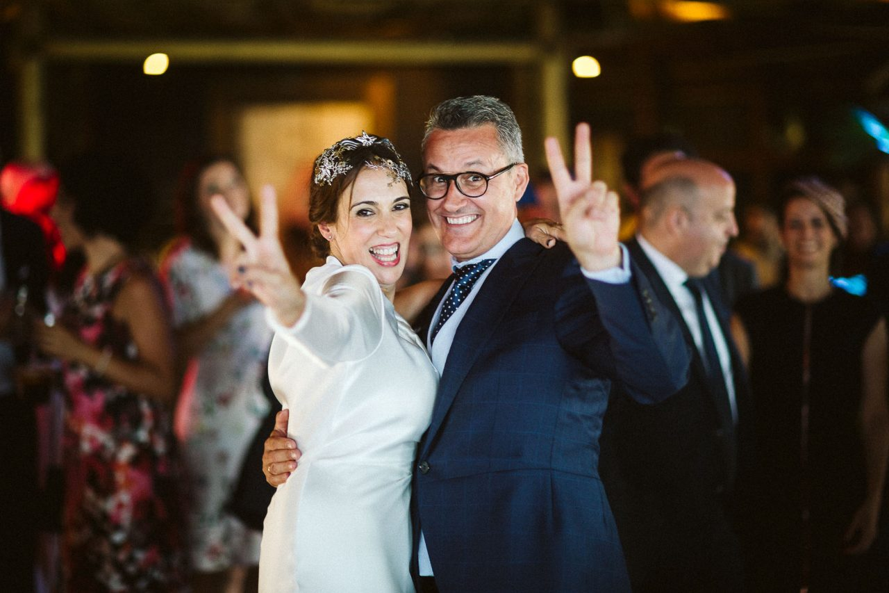 Una boda a los pies del Mediterráneo