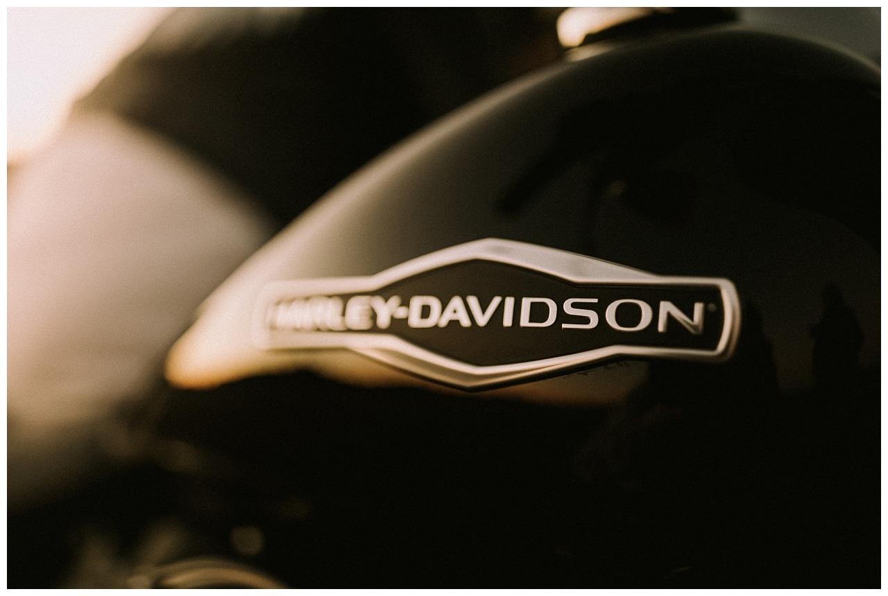 Harley Davidson & Sun