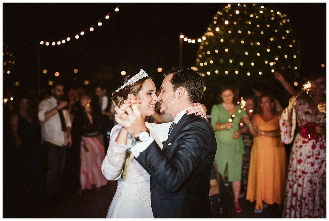 Fotografia baile de los novios