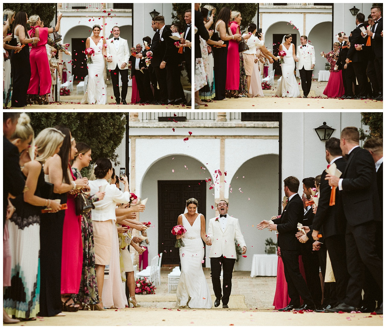 An English wedding in Seville
