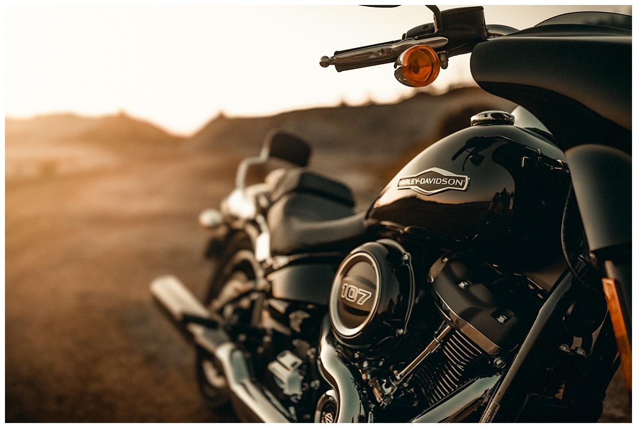 Sun & Harley Davidson