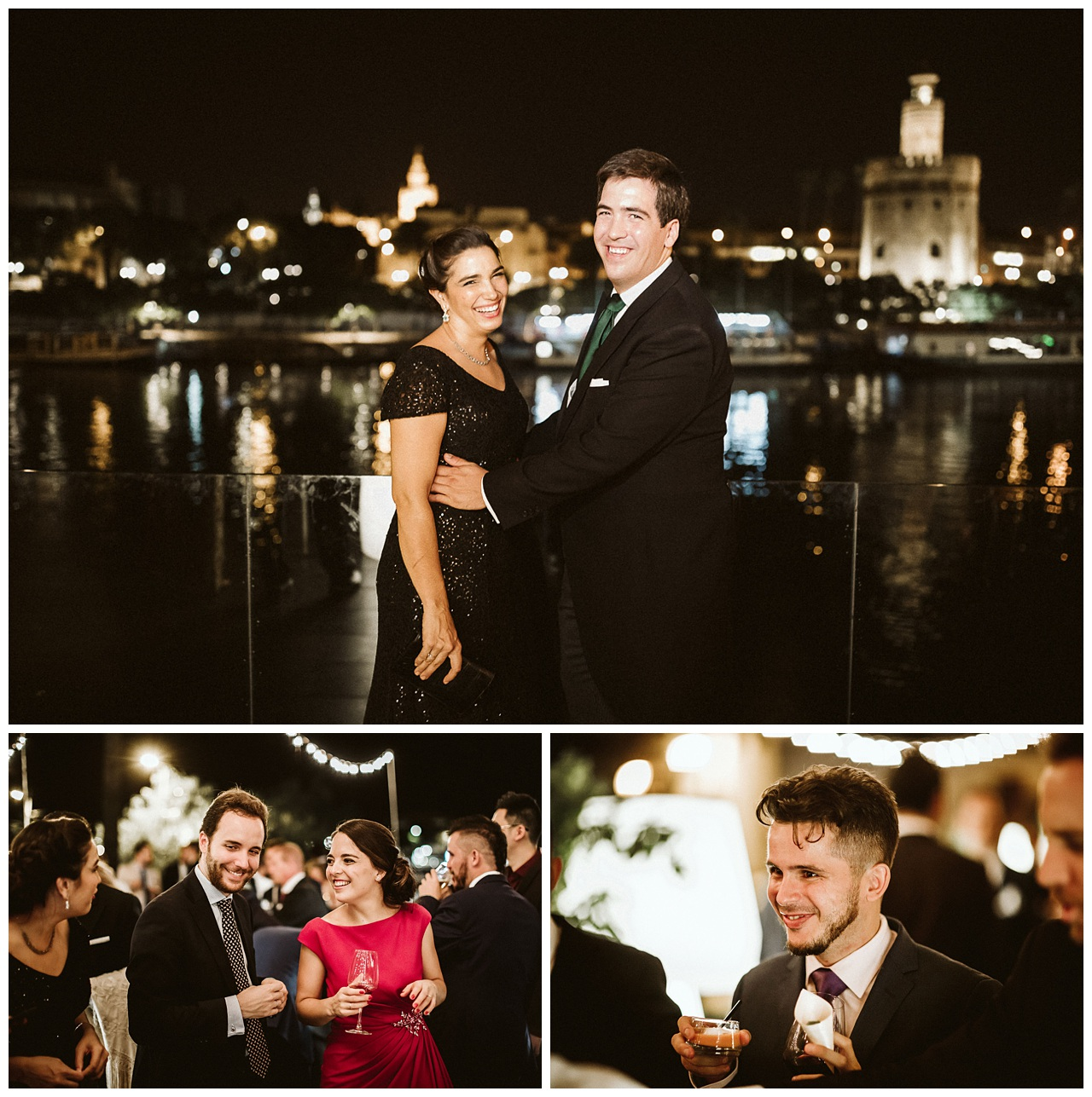 El cocktail de boda en Sevilla