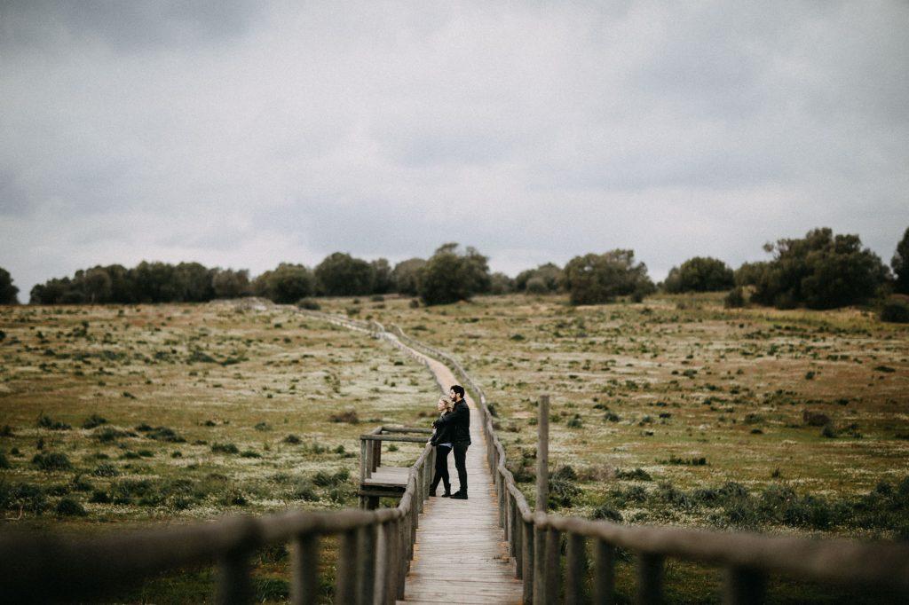 Sesión de pareja en la Dehesa de Abajo