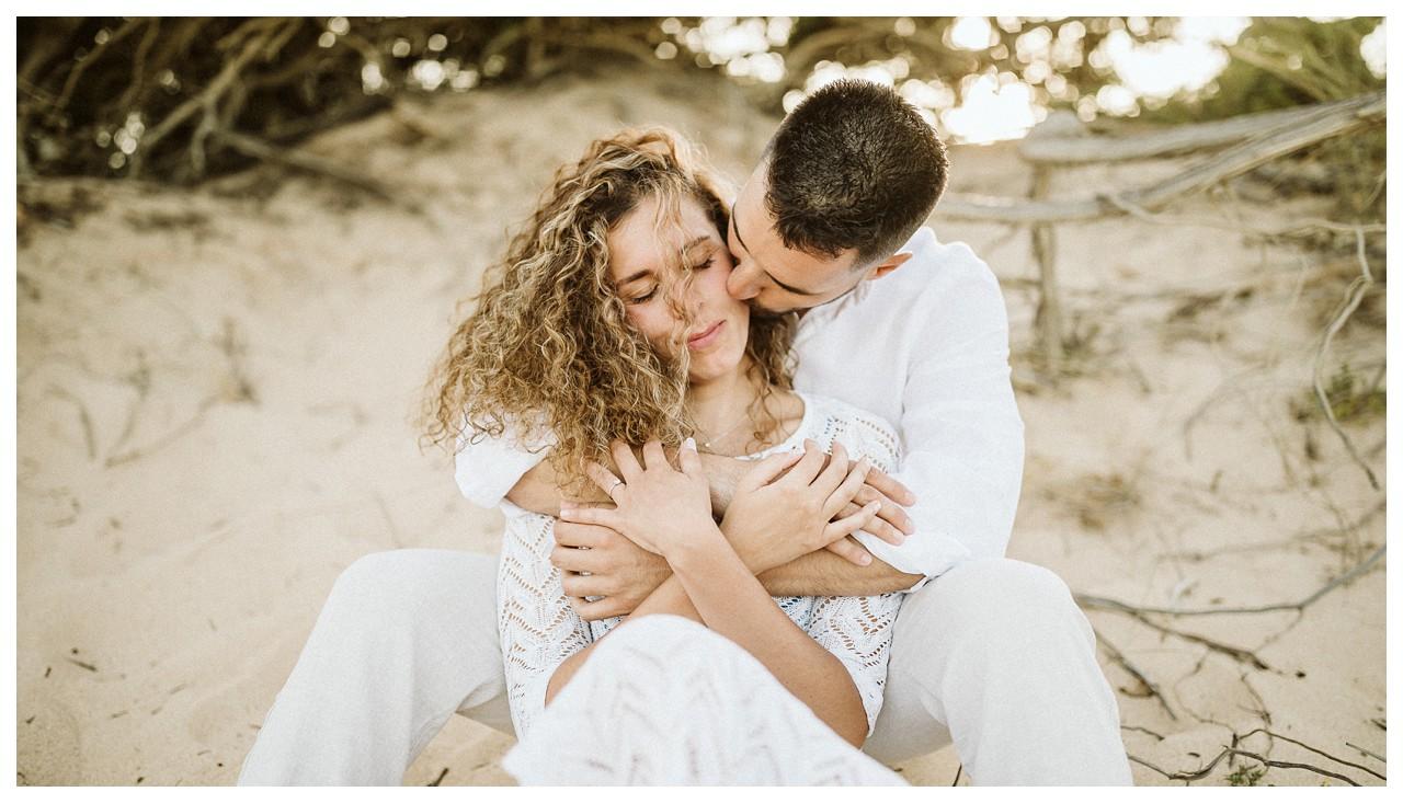 Un beso en las dunas