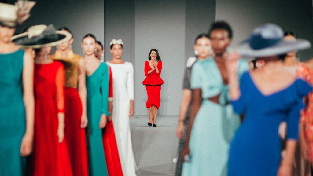 Rocío Osorno,la Instagram influencer sevillana en la pasarelaCode-41