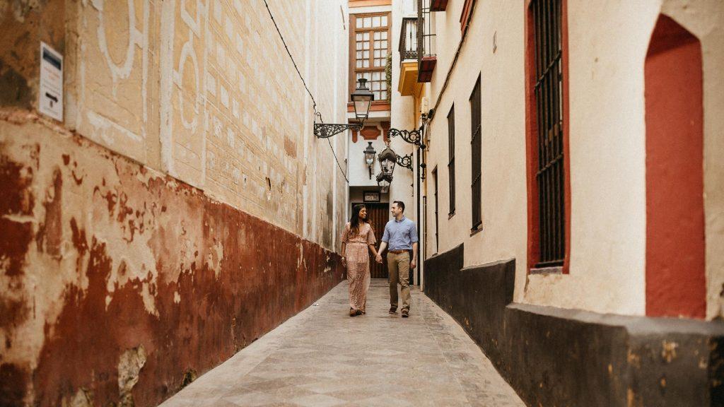 A walk through Seville